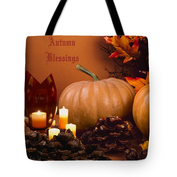 Autumn Blessings Tote Bag