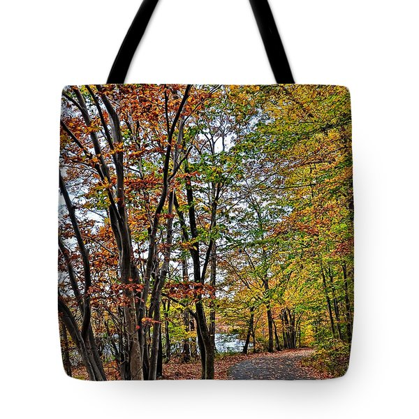 Tote Bag featuring the photograph Autumn Bliss by Gina Savage