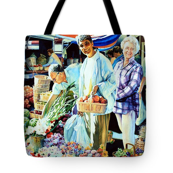 Autumn Bounty Tote Bag by Hanne Lore Koehler