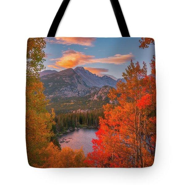 Autumn's Breath Tote Bag