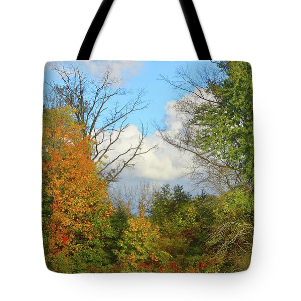 Autumn Breeze Nature Art Tote Bag
