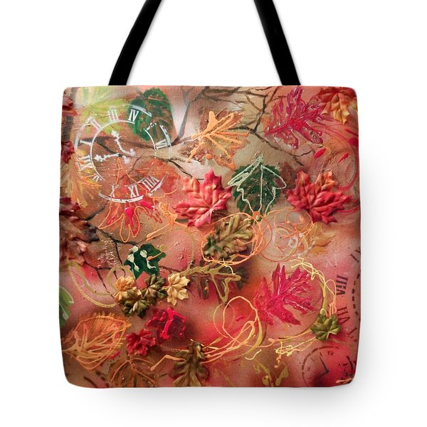 Autumn Breeze On The Edge Of Time Tote Bag