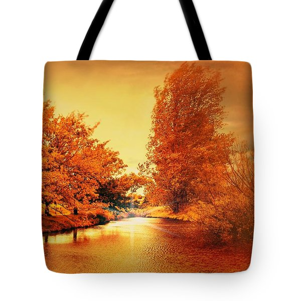 Autumn Breeze Tote Bag by Wallaroo Images