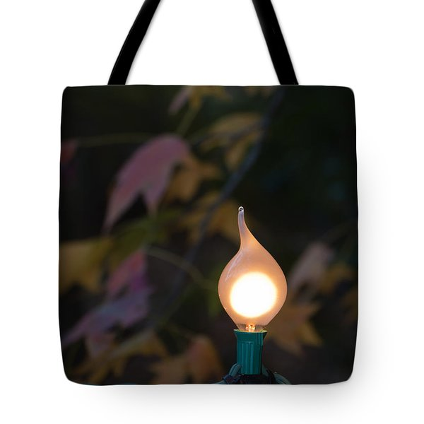 Autumn Bulb Tote Bag