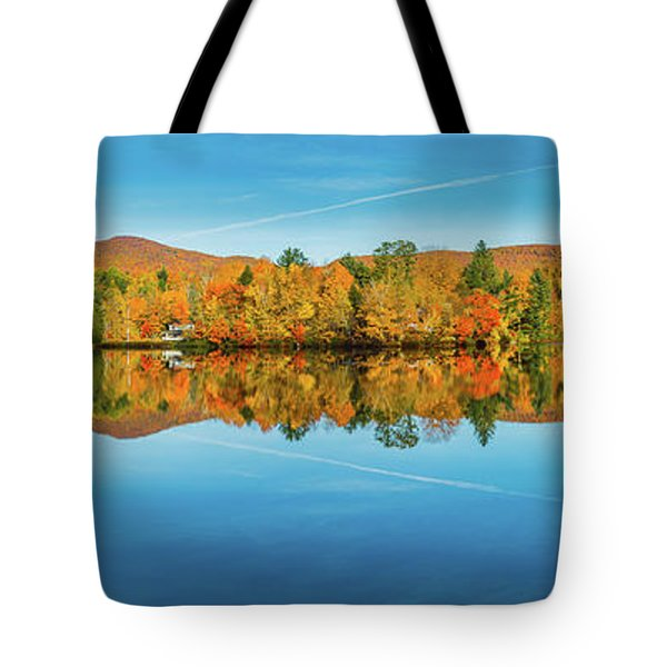 Autumn By The Lake Tote Bag
