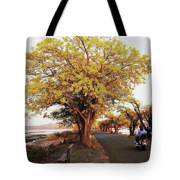 Autumn Causeway Tote Bag