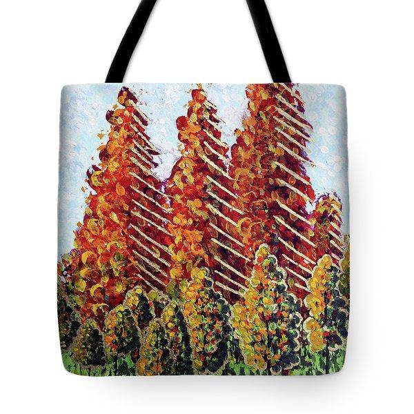 Autumn Christmas Tote Bag