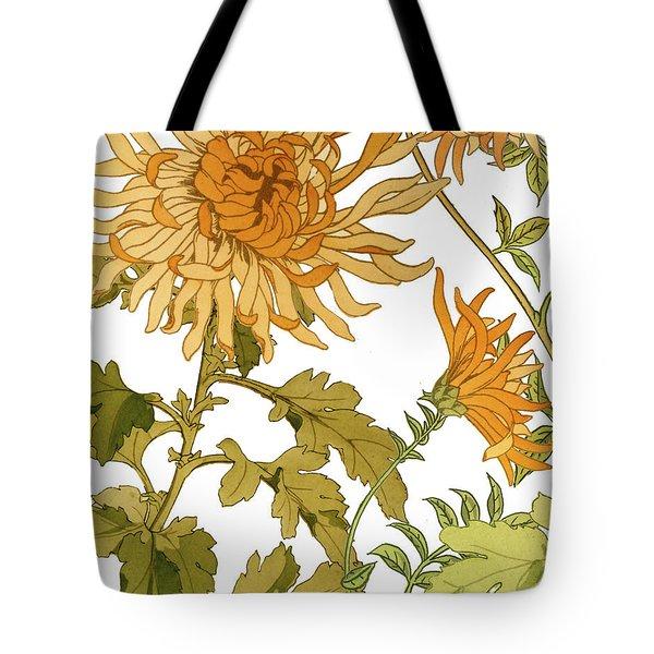Autumn Chrysanthemums I Tote Bag