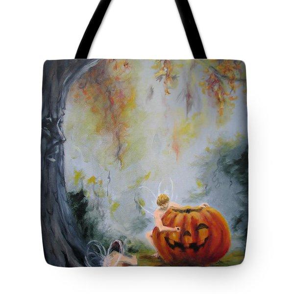 Autumn Color Celebration Tote Bag