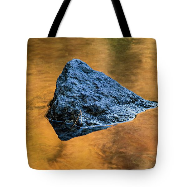 Tote Bag featuring the photograph Autumn Color On Little River - D009990 by Daniel Dempster
