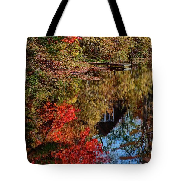 Autumn Colors Arrive Tote Bag
