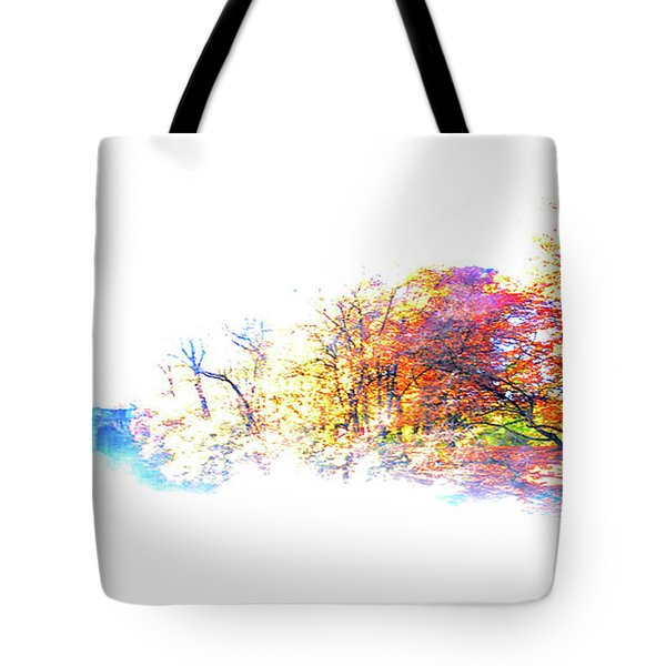 Autumn Colors Tote Bag by Hannes Cmarits