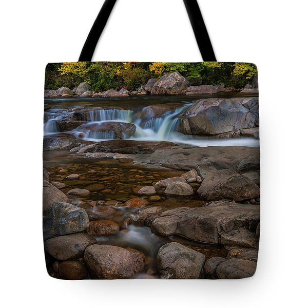 Autumn Colors In White Mountains New Hampshire Tote Bag