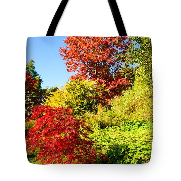 Autumn Colours Tote Bag by Colin Rayner