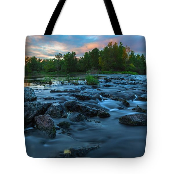 Autumn Comes Tote Bag