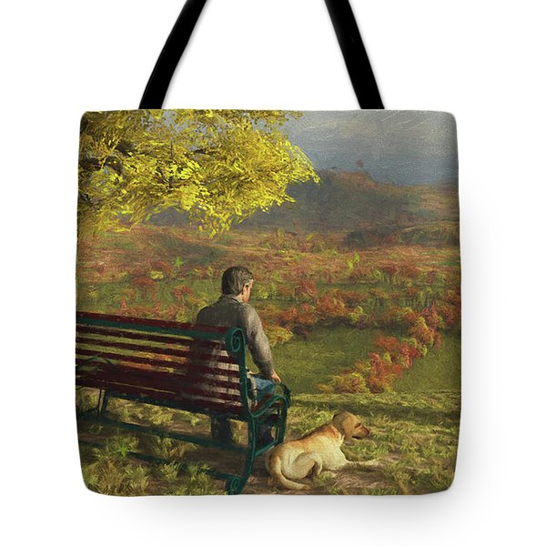 Autumn Companions Tote Bag