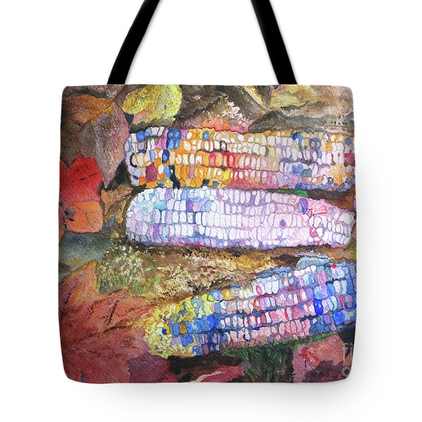 Autumn Corn Tote Bag