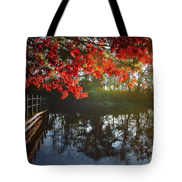 Autumn Creek Magic Tote Bag