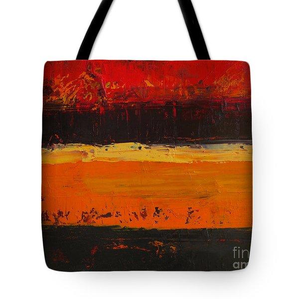 Autumn Day Tote Bag by Patricia Awapara