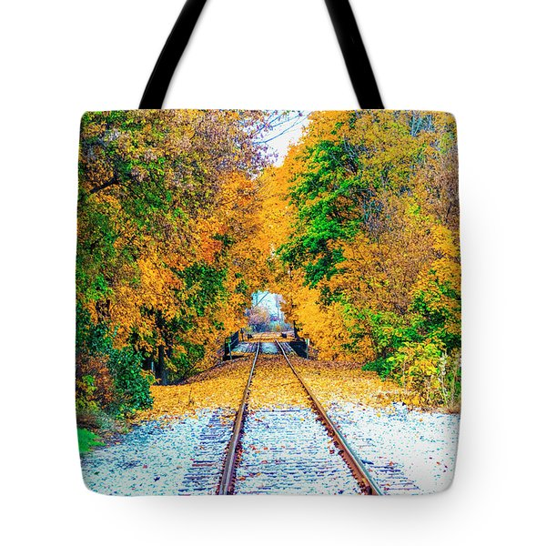 Autumn Days Tote Bag