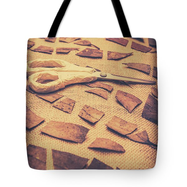 Autumn Decomposition Tote Bag