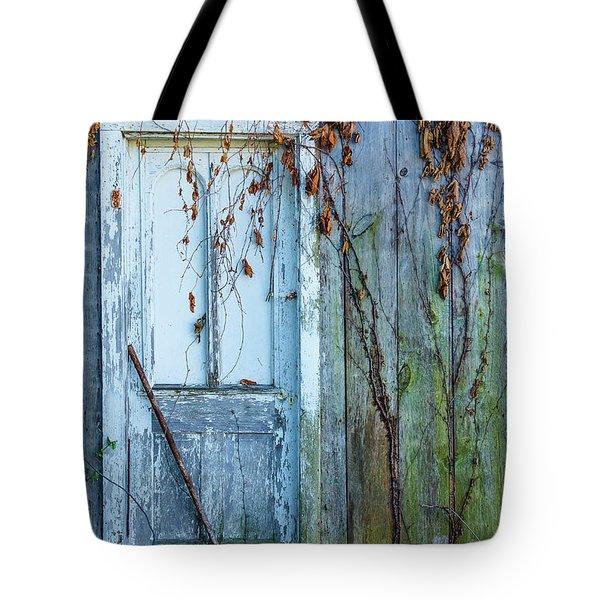 Autumn Door Tote Bag