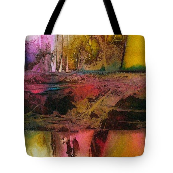 Tote Bag featuring the painting Autumn Dream by Mary Sullivan