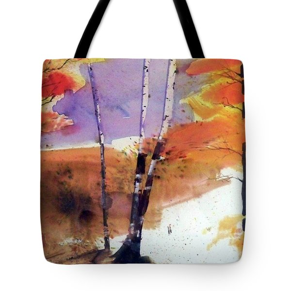 Autumn Tote Bag by Ed Heaton