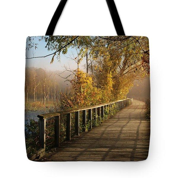 Autumn Emerging Tote Bag