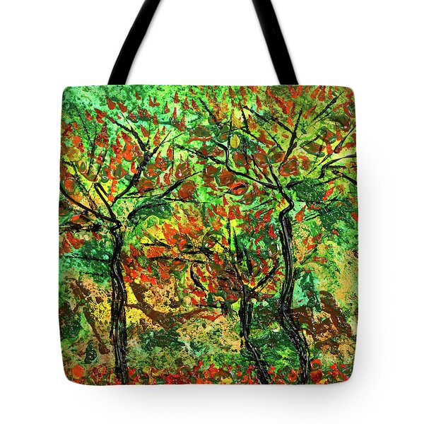 Autumn Tote Bag by Erik Tanghe