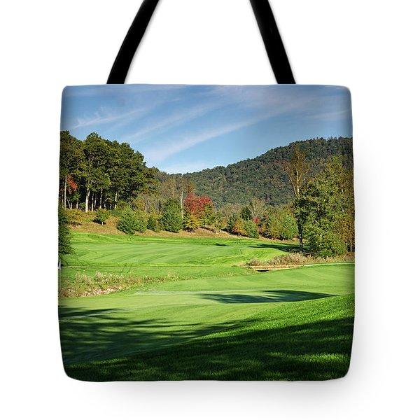 Autumn Fairway Tote Bag
