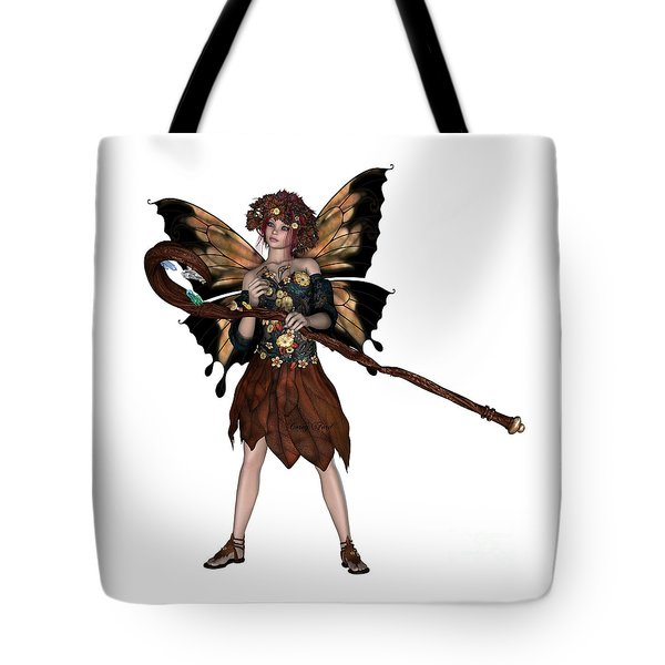 Autumn Fairy Tote Bag by Corey Ford