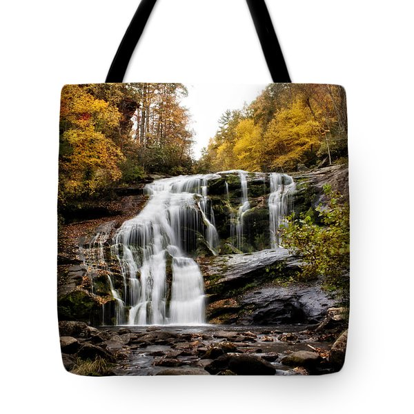 Tote Bag featuring the photograph Autumn Fall by Chrystal Mimbs