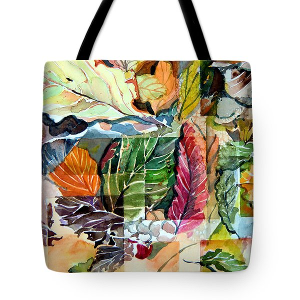 Autumn Falls Tote Bag by Mindy Newman