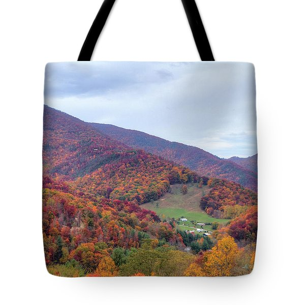 Autumn Farm Tote Bag