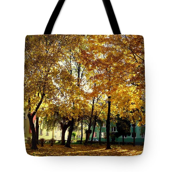 Autumn Festival Of Colors Tote Bag