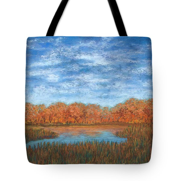 Autumn Field 01 Tote Bag