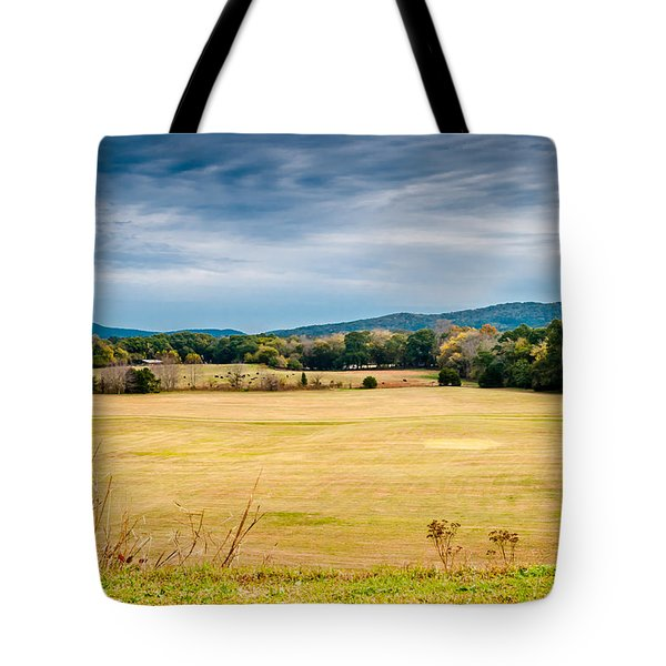 Autumn Field Tote Bag