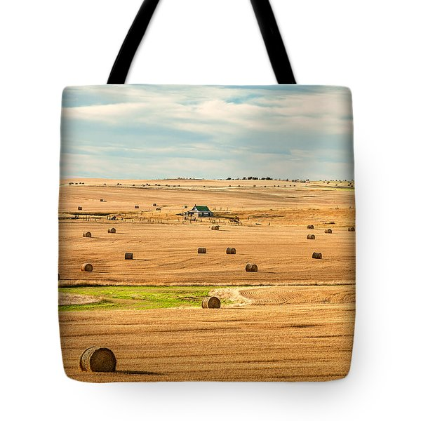 Autumn Fields Tote Bag