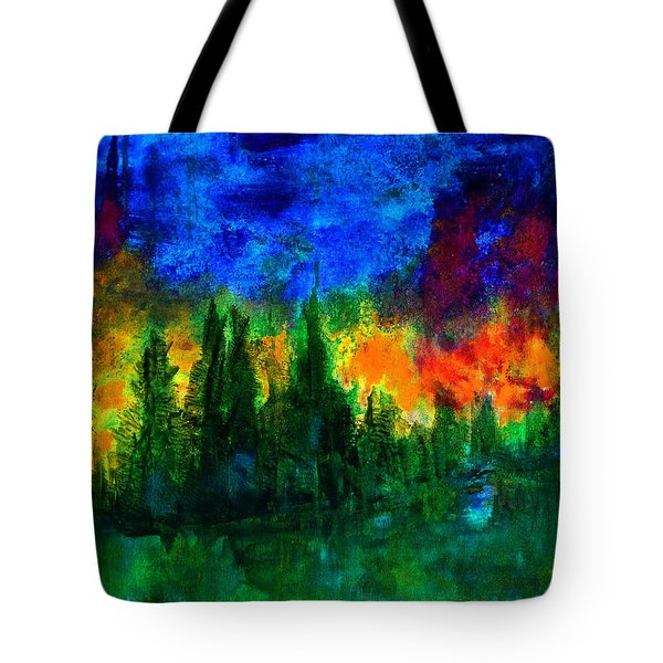 Autumn Fires Tote Bag