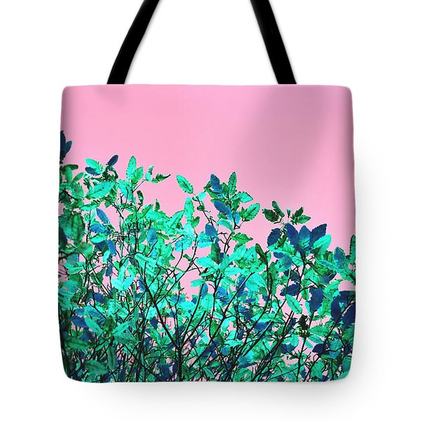 Autumn Flames - Pink Tote Bag