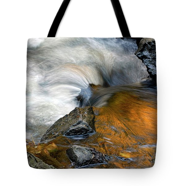 Autumn Flow Tote Bag