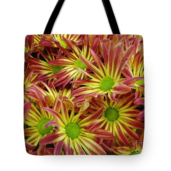Tote Bag featuring the photograph Autumn Flowers by Lyric Lucas