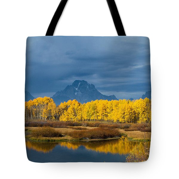 Autumn Flowers Tote Bag