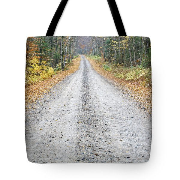 Autumn Foliage - Tripoli Road White Mountains Tote Bag