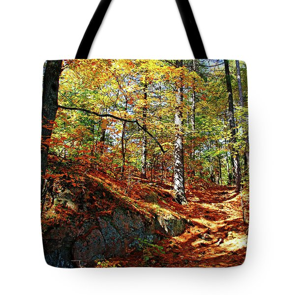 Autumn Forest Killarney Tote Bag