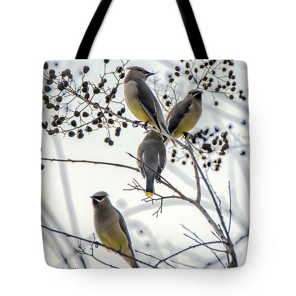 Autumn Friends Tote Bag