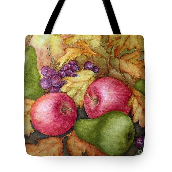 Autumn Fruit Still Life Tote Bag