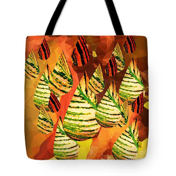 Tote Bag featuring the digital art Autumn Fun by Gayle Price Thomas