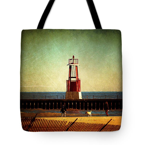 Autumn Fun In Chicago Tote Bag